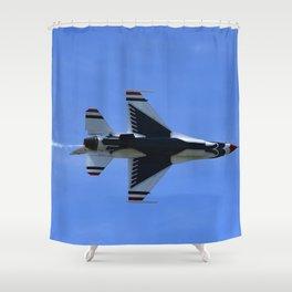 USAF Thunderbird Shower Curtain