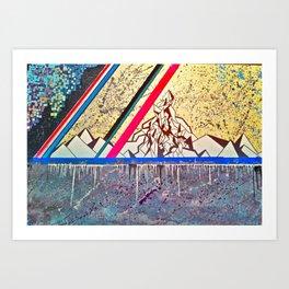 Linear Field Art Print