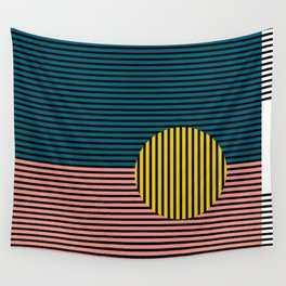 Multi lines Wall Tapestry