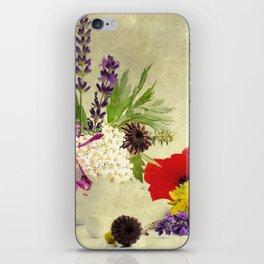 Garden weeds little helpers from nature iPhone Skin
