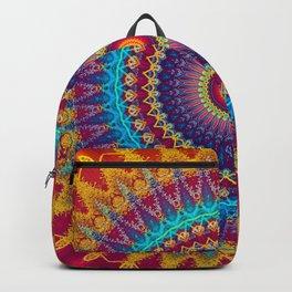Fire and Ice Mandala Backpack