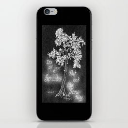 It's All Just Scribbles iPhone Skin