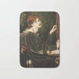 Dante Gabriel Rossetti - Veronica Veronese. Bath Mat