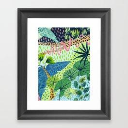 Topical Jungles Framed Art Print