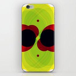 Chrome I iPhone Skin