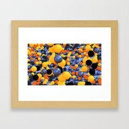 Bubblish Framed Art Print
