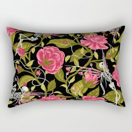 Death of Summer (black and rose) Rectangular Pillow