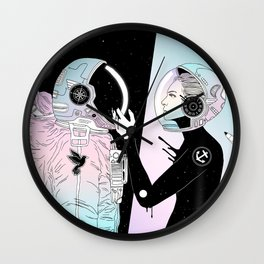 I Found a Place for Us (Summer Pastel) Wall Clock