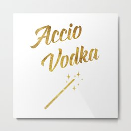 Accio Vodka Metal Print