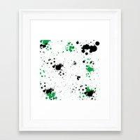 splatter Framed Art Prints featuring Splatter by Inphocus Photography