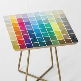 Colorful Soul - All colors together Side Table