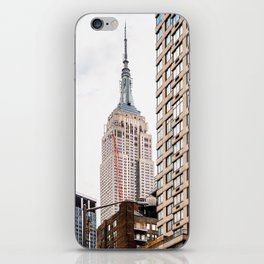 Empire State Building in New York iPhone Skin