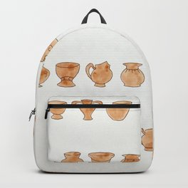 Greek Vases Backpack
