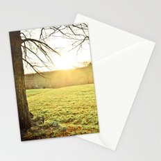 Golden Glory Stationery Cards