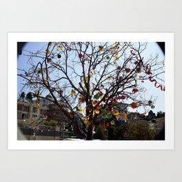 Balloon Tree1 Art Print