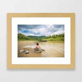 Bandarban Framed Art Print