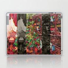 Bibliophile's Christmas Laptop & iPad Skin