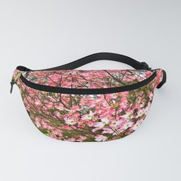Pink Dogwood Blooms Fanny Pack