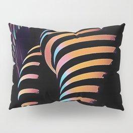 7485s-MAK Zebra Striped Curves Butt Thighs Bum Ass Rear Bottom Pillow Sham