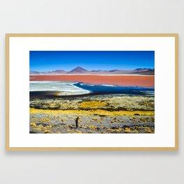 Laguna Colorada Framed Art Print