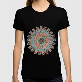 Boho Patchwork-Vintage colors T-shirt