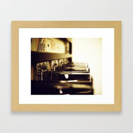Coin Operated Framed Art Print