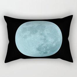 BLUE MOON // BLACK SKY Rectangular Pillow
