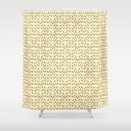 Royal Doves White Shower Curtain