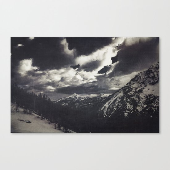Cold Mountains Canvas Print