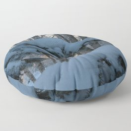 Midwinter Sun Floor Pillow