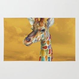 Giraffe and Butterfly Rug