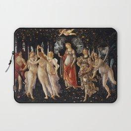La Primavera - Allegory Of Spring - Sandro Botticelli Laptop Sleeve