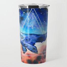 Galactic Whales Travel Mug
