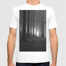 nature. Mens Fitted Tee White MEDIUM