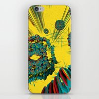 cyberpunk iPhone & iPod Skins featuring Coral Reef by Obvious Warrior