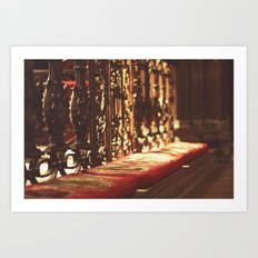 Manchester cathedral I Art Print