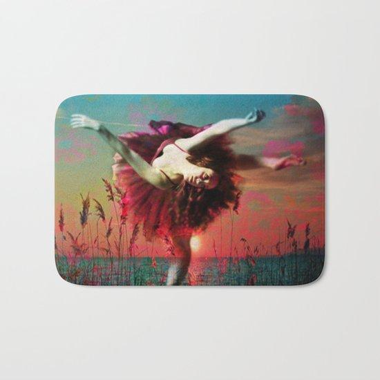 Flamingo Lagoon (Postcards from Shangri-La) Bath Mat