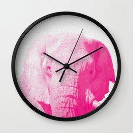 Elephant 02 Wall Clock