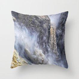 The magnificent Barron Falls Throw Pillow