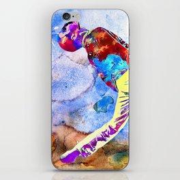 Freddie Painting iPhone Skin