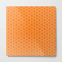 Orange Taffy Metal Print