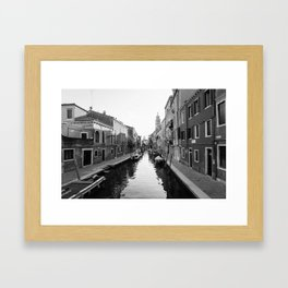 Venice Summer Framed Art Print
