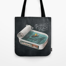 Gone Fishin' Tote Bag