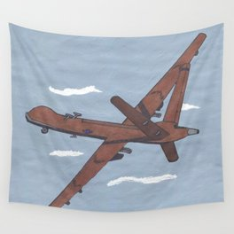 Predator Drone (Unmanned, USA) Wall Tapestry