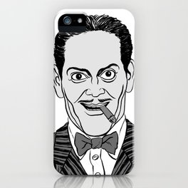 GOMEZ ADDAMS - THE ADDAMS FAMILY iPhone Case