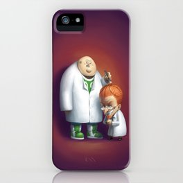 Mad About Basketball iPhone Case