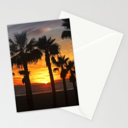 Sunset Through The Palms  1-5-20 Stationery Cards