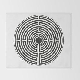 Maze 2 Throw Blanket
