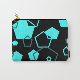 pentagon pattern Carry-All Pouch