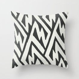 cloak of attentive life Throw Pillow